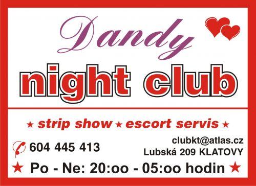 NIGHT CLUB  *  DANDY  *