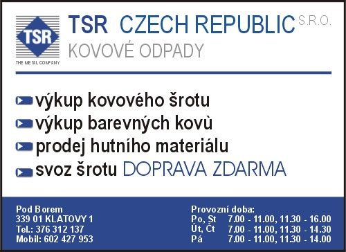 TSR CZECH REPUBLIC s.r.o.